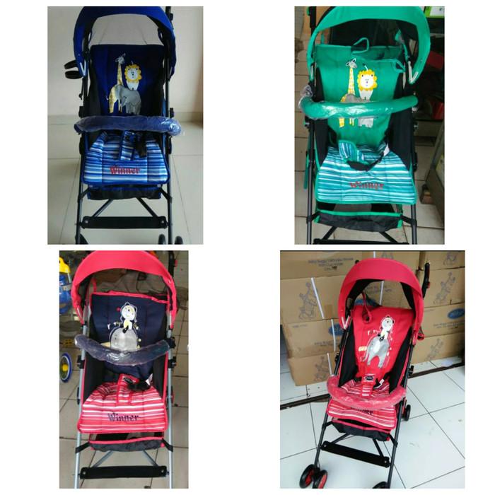harga Stroller Baby / Kereta Dorong Bayi Pliko Winner Tokopedia.com