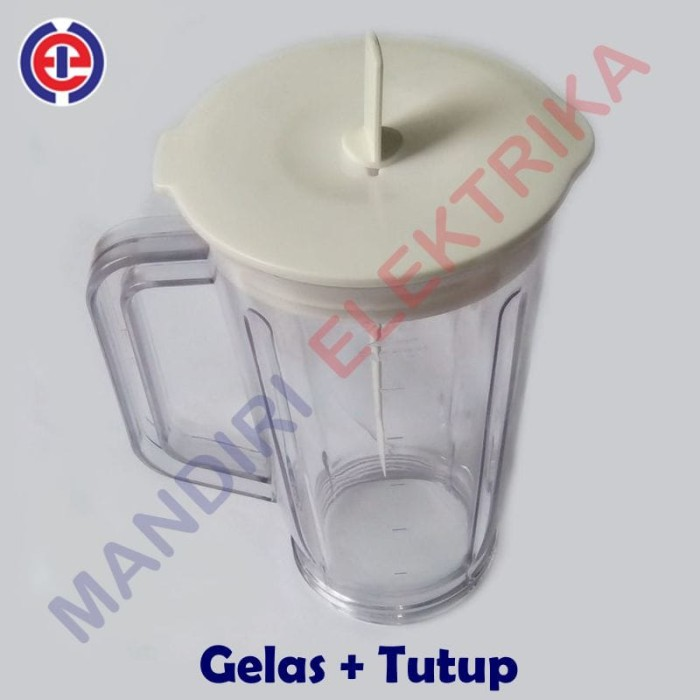 harga Gelas + tutup blender national miyako kirin - gelas plastik juicer Tokopedia.com