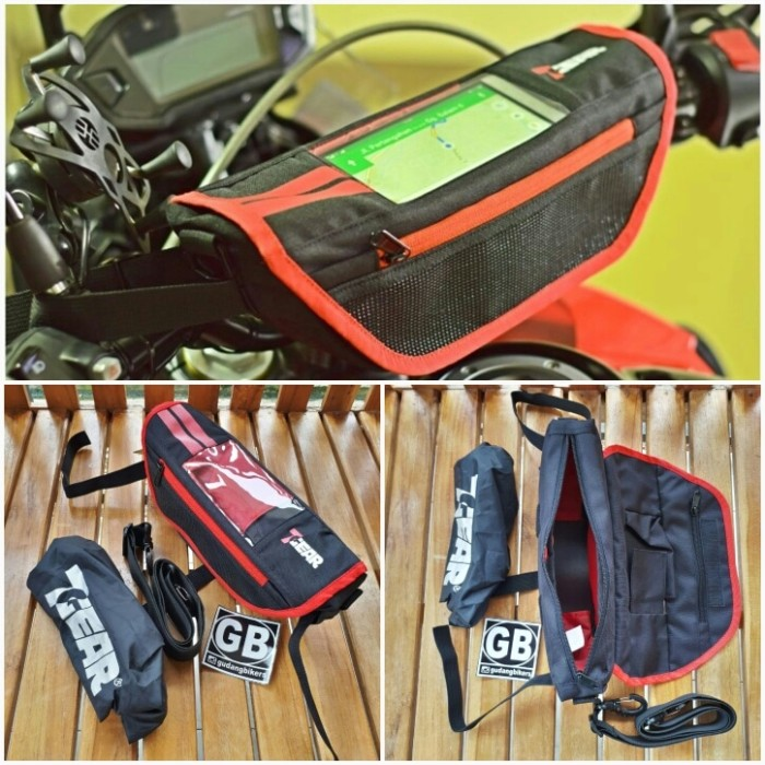 harga Safari handle bar bag 7gear tas stang motor klx crf trail dll bikers Tokopedia.com