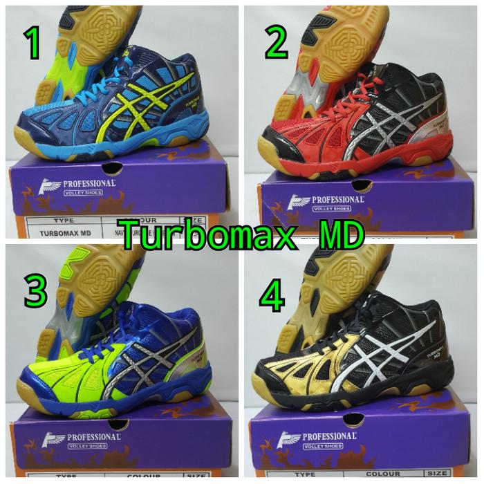 Jual Sepatu Voli PROFESIONAL TURBOMAX MD - Starky solution  fd43c39dcb