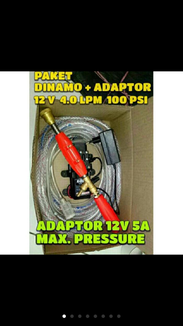 harga Paket Cuci Motor Dinamo Pompa Air Dc Robot 12v 5a Tokopedia.com