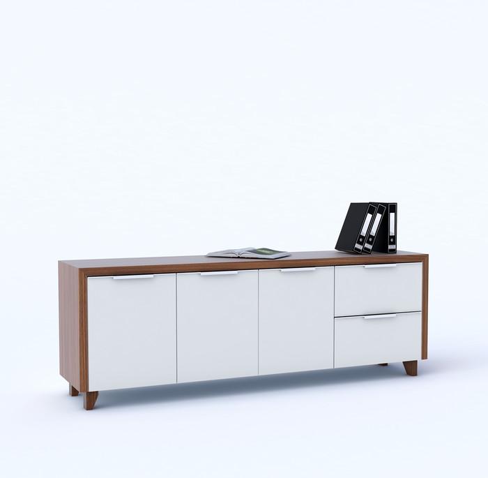 Jual Credenza Kantor Meja Sudut Kota Tangerang Selatan Nzr Furniture Tokopedia