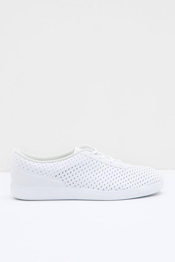 Sepatu Casual Sneaker Classic Piero P10513 Jane White Grey