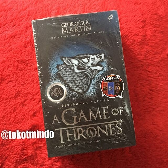 harga Novel A Game Of Thrones New Edition (#1 A Song Of Ice And Fire) Tokopedia.com