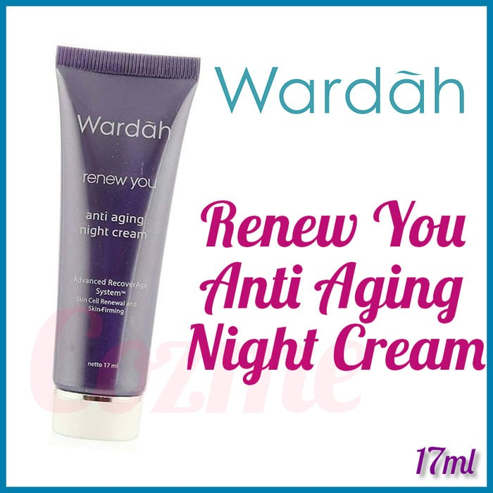 Jual Wardah Renew You Anti Aging Krim Siang dan Malam