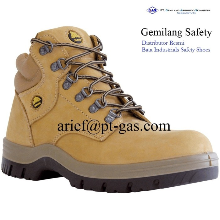 Gambar Bata Industrials Safety Shoes