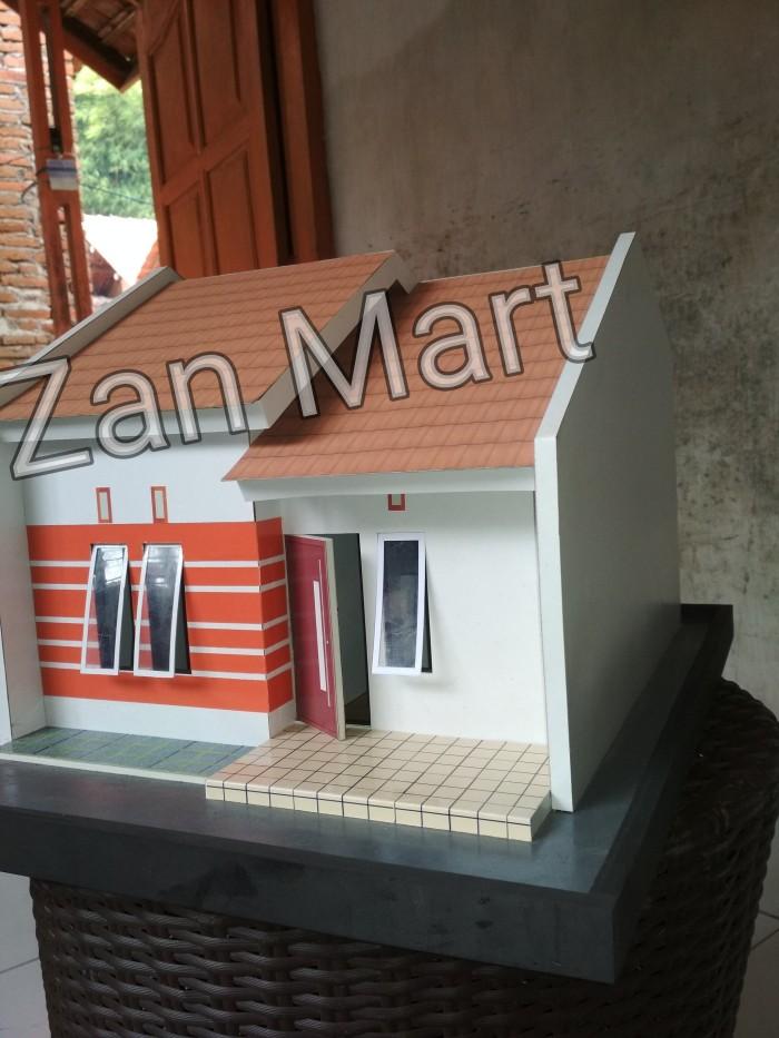 Jual Maket Miniatur Rumah Tinggal Sederhana Tipe 36 - Kab ...