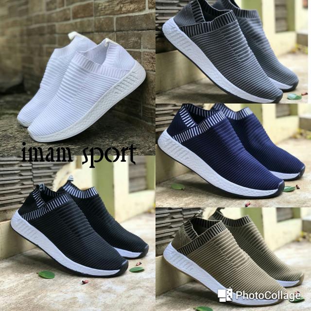 harga Sepatu adidas nmd cs2 city sock casual running sepatu pria Tokopedia.com