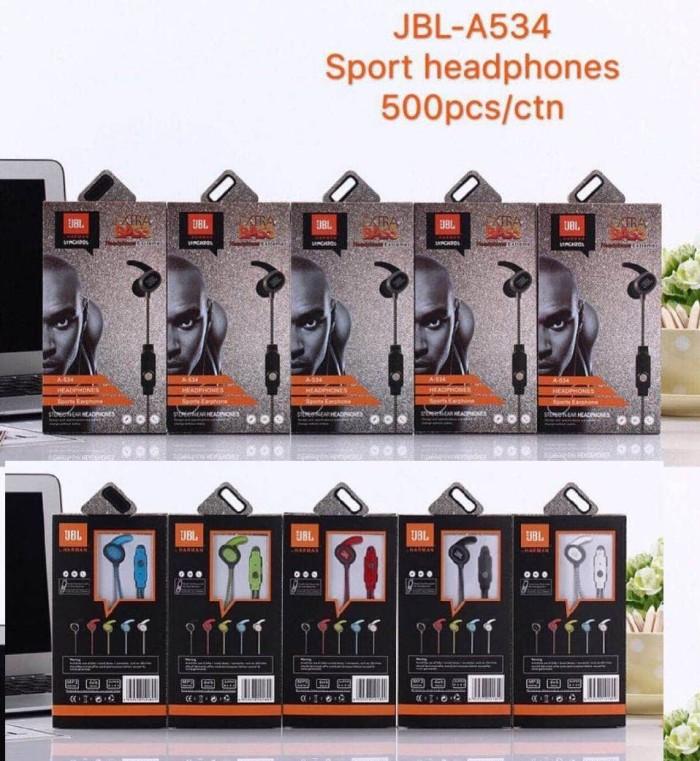 harga Headset jbl sport extreme 86 / handsfree jbl extra bass + microphone Tokopedia.com