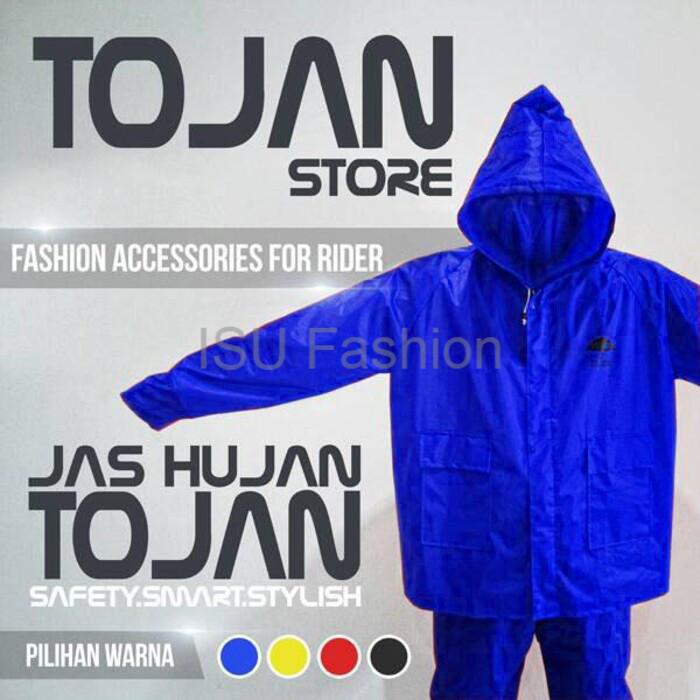 harga Jas hujan tojan stelan jas celana original bahan parasut 70d Tokopedia.com