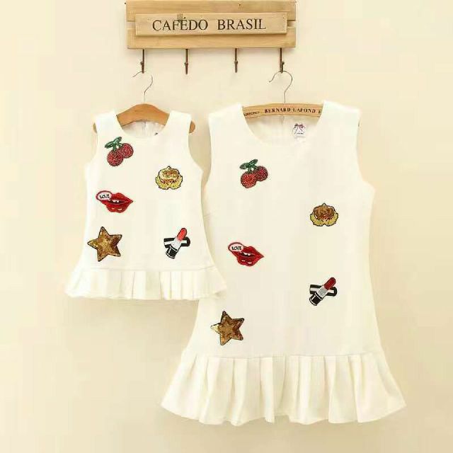 harga Baju dewasa import branded dress mommy cherry blink white cute fashion Tokopedia.com