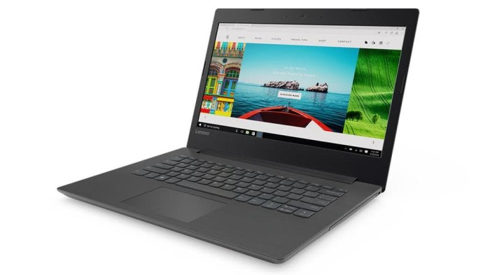 Lenovo IP320 Notebook - Black [AMD A4-9210/4 GB/500GB/14 Inch/WIN 10]