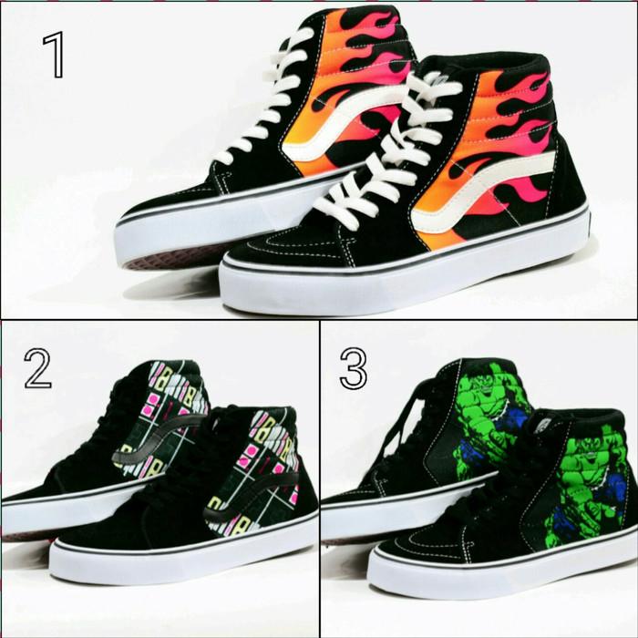 sepatu vans sk8 hi terbaru - vans terbaru - skate pria - skateboard a3ce8c4ffe
