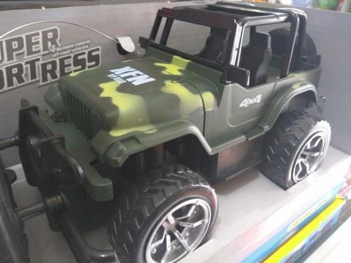 harga Rc jeep off road strong power army 4x4 baterai cas Tokopedia.com