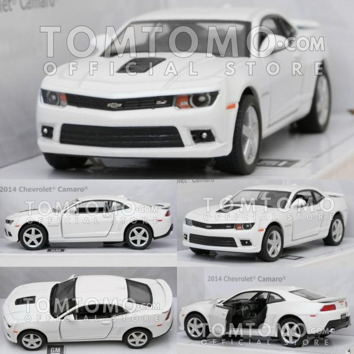 Jual Diecast Chevrolet Camaro Putih Mobil Mobilan Mainan Kinsmart