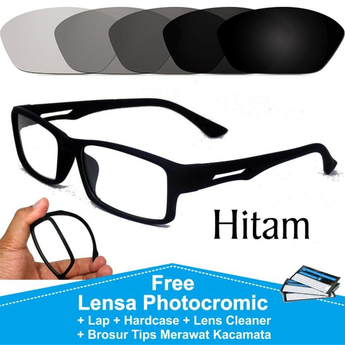 ... harga Frame kacamata pria photocromic anti radiasi sporty minus p837  Tokopedia.com 13c943dea8