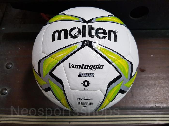 Bola sepak lapangan besar molten vantaggio f5v 3400 original