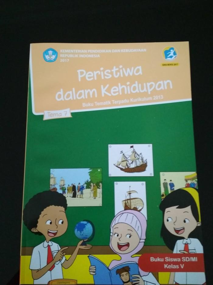 Jual Buku Tematik Sd Kelas 5 Tema 7 Kurikulum 2013 Edisi Revisi 2017 Kab Bogor Felita Book Store Tokopedia
