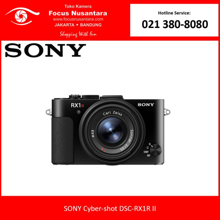 harga Sony cyber-shot dsc-rx1r ii Tokopedia.com