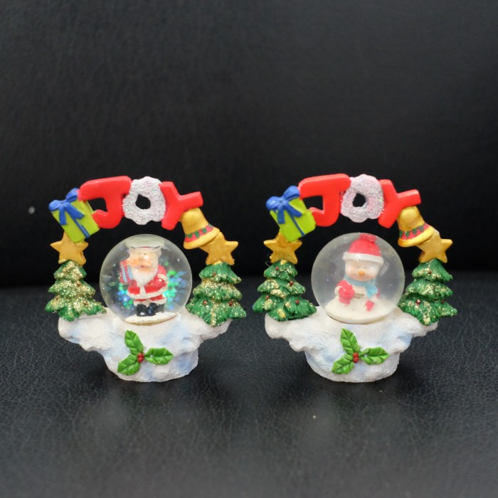harga (sale) water ball bola air natal santa snowman pajangan kado natal joy Tokopedia.com