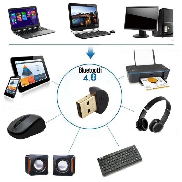 harga Bluetooth dongle  4.0 version high speed support windows 10 Tokopedia.com