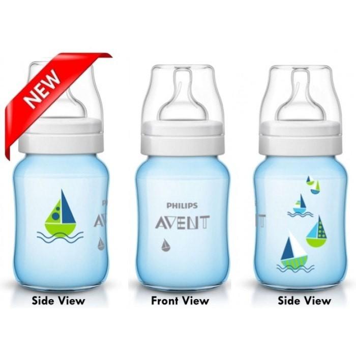 harga Philips avent baby classic bottle 260ml ship blue/ botol susu dot bayi Tokopedia.com