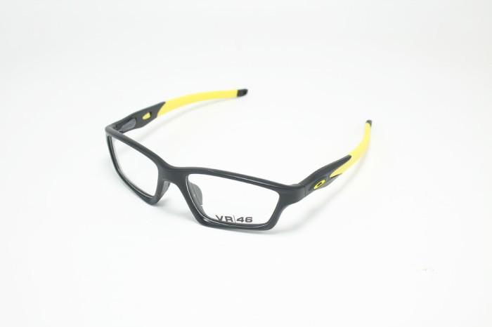 Frame Kacamata Minus Oakley Crosslink Pria Vr46 Hitam Kuning 14f8d1731f