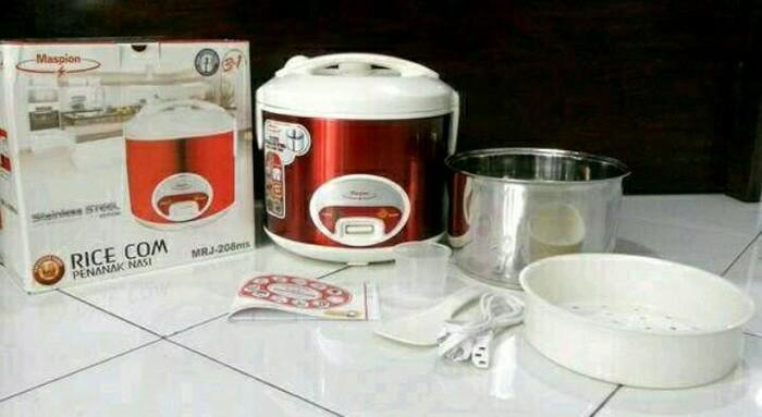 ... harga Rice cooker maspion mrj 109 ms - magicom maspion 1 l - magic com mini