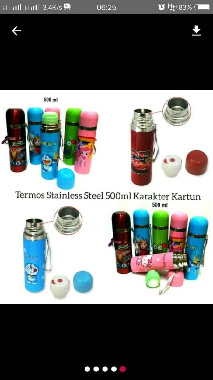 Jual Termos Karakter Kartun Stainless Kapasitas 500ml Kota Surabaya D N P Store