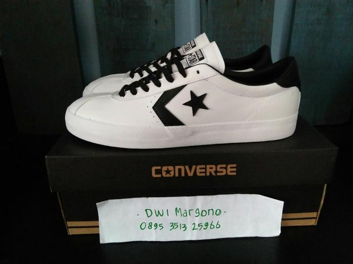 0c5bc320c5c Jual Converse Breakpoint Leather White Black Ox - DKI Jakarta ...