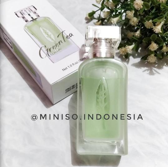 Jual Miniso Parfum Cewekgreen Tea Classic Perfume 30ml Aroma Fresh
