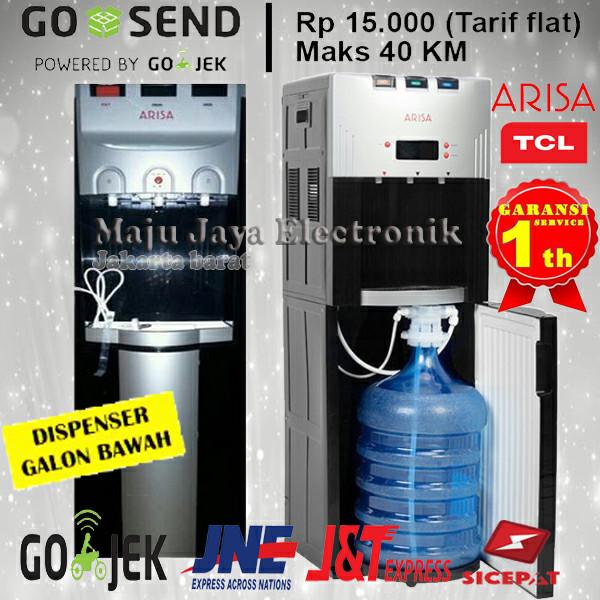 harga Dispenser air galon bawah tcl arisa 3 kran bisa gojek Tokopedia.com