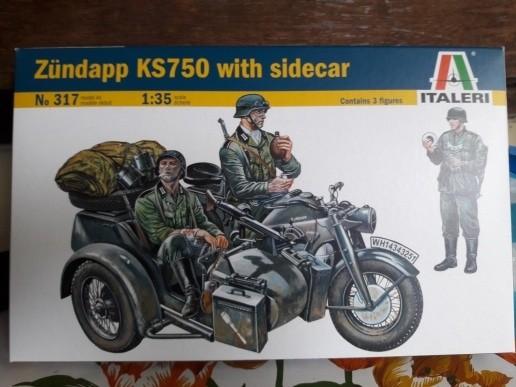 harga Italeri 1/35 zundapp ks750 Tokopedia.com