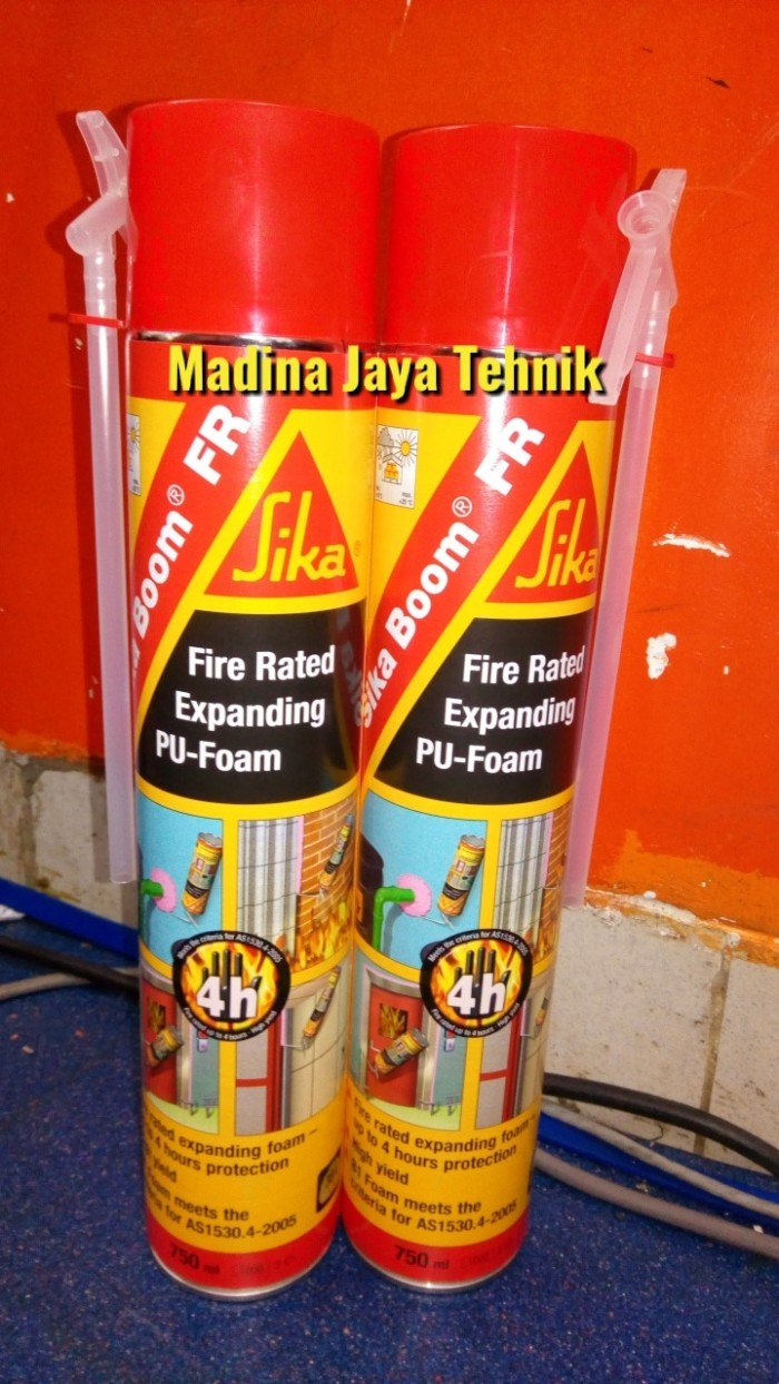 jual sika boom fr fire rated expanding pu foam madina. Black Bedroom Furniture Sets. Home Design Ideas