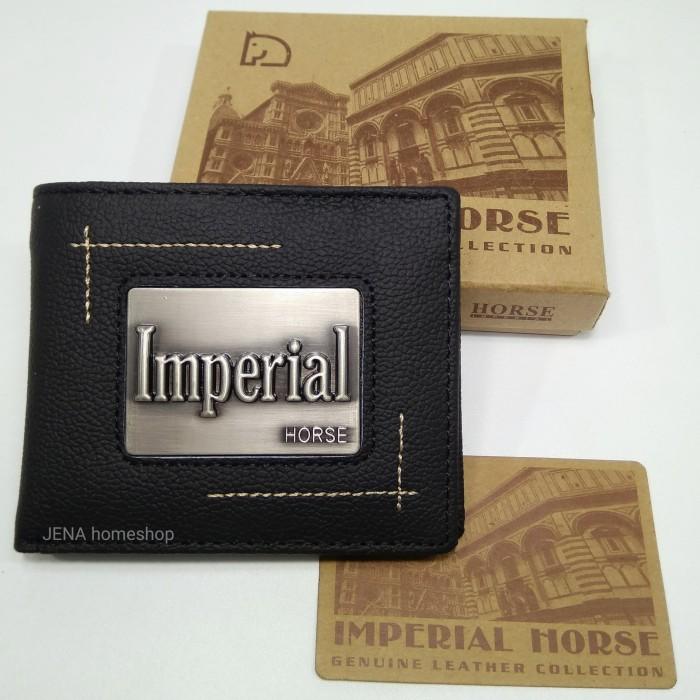 Dompet kulit pria branded imperial horse keren bawah