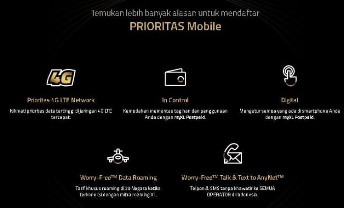 Cara Daftar Xl Prioritas Tanpa Kartu Kredit - Berbagi Info ...