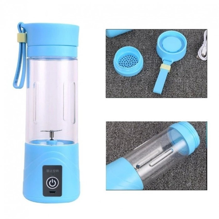 Shake N Go - Juice Blender Portable And Rechargeable Battery - Blanja.