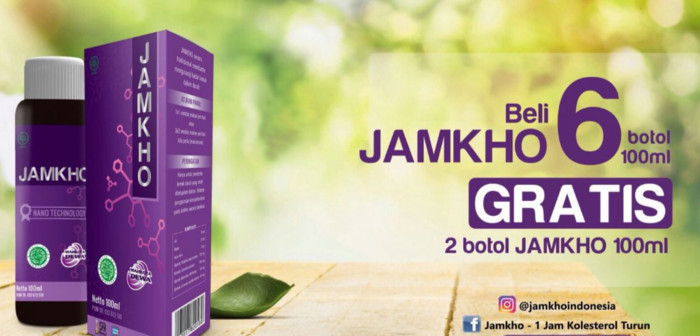 (Obat Herbal) PROMO JAMKHO 100ml BELI 6 BOTOL FREE 2 BOTOL
