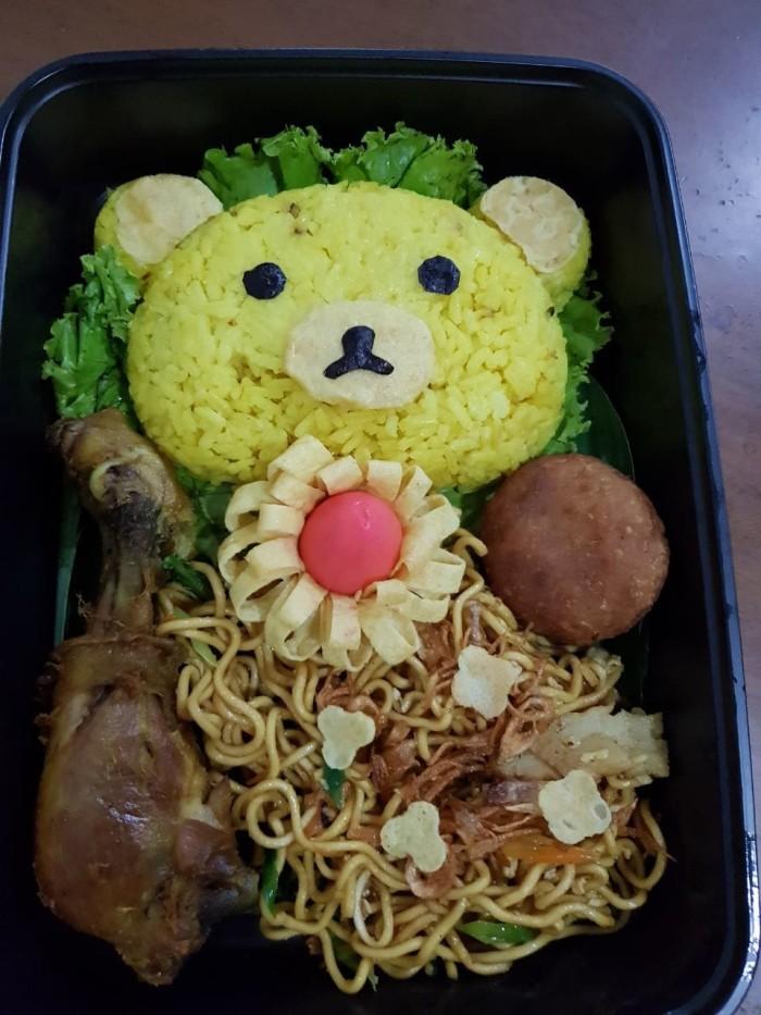 Jual Nasi Kuning Tumpeng Mini Ultah Jakarta Barat Timm Catering Tokopedia
