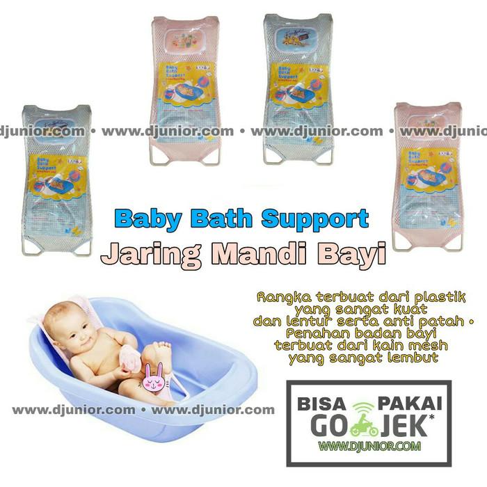 Nb - jaring pengaman bak mandi bayi / baby bath helper / support