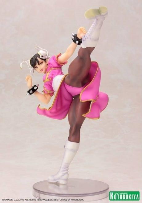 Jual Kotobukiya Chun Li Pink Costume Ver 1 7 Figure Street