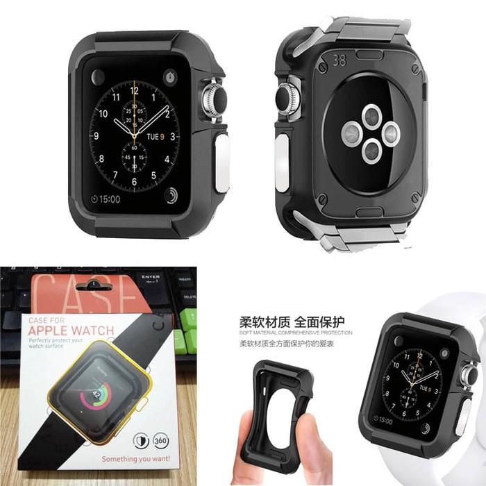 Foto Produk Venom TPU Rugged Soft Case for Apple Watch 42mm - Hitam dari PremiumCases