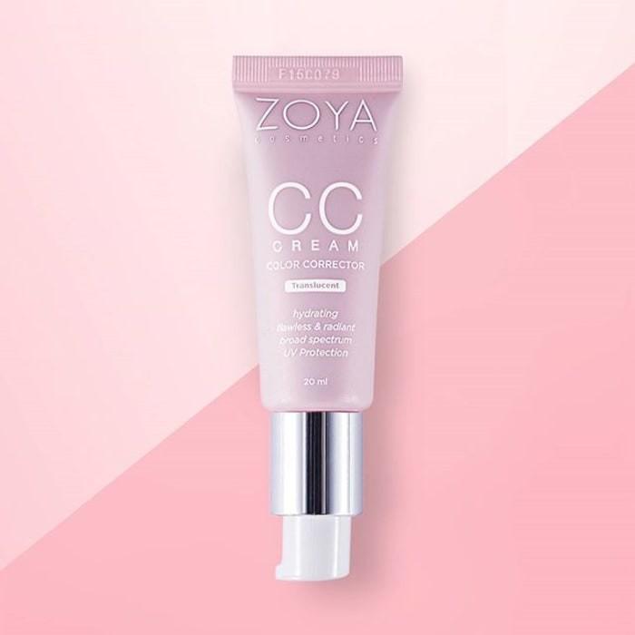 Zoya Cosmetics Color Corrector Translucent CC Cream