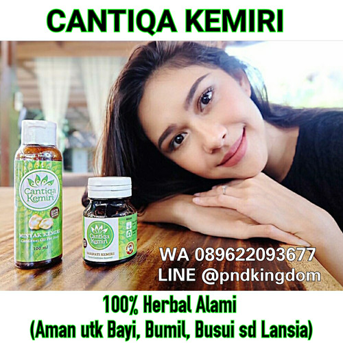 harga Aman u/ bayi - penumbuh rambut alami cantiqa kemiri (100% kemiri asli) Tokopedia.com