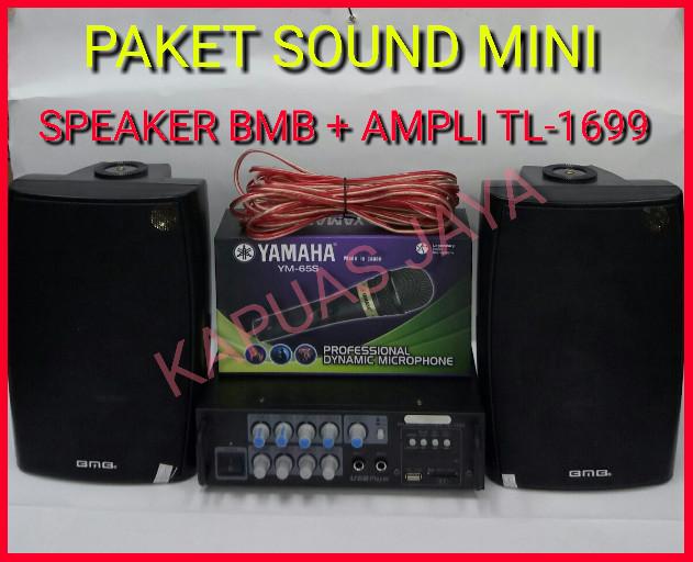 harga Paket mini karaoke speaker bmb 5inch + amplifier tl-1699 bluetooth Tokopedia.com