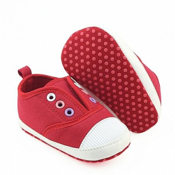 harga Sepatu prewalker pw anak bayi cowok laki keds sneaker merah red Tokopedia.com