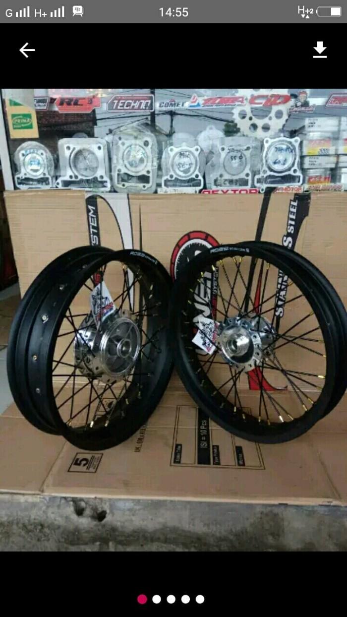 Katalog Sepaket Velg Set Rossi Tromol Jari2 Vixion New Old MxSpotharga