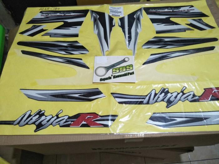 harga Striping ninja r 2011 putih Tokopedia.com