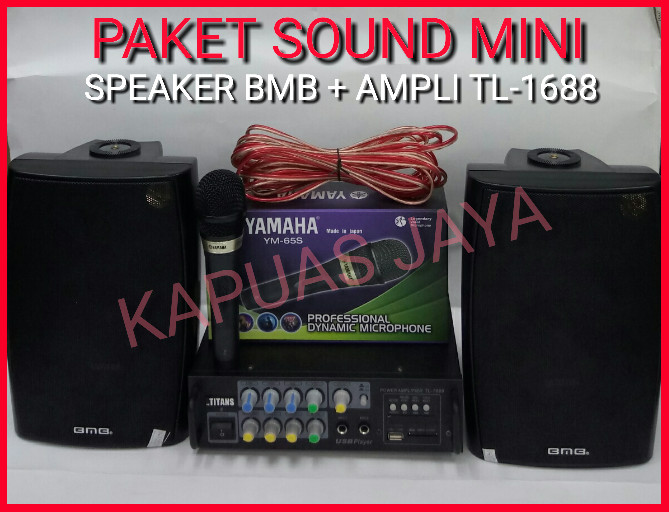 harga Paket soundsystem mini karaoke speaker bmb + amplifier tl-1688 Tokopedia.com