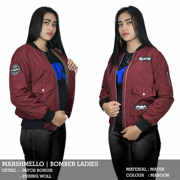 Jaket Marshmello Maron - daftar harga Produk Terhangat Di Indonesia ad3dbf0289